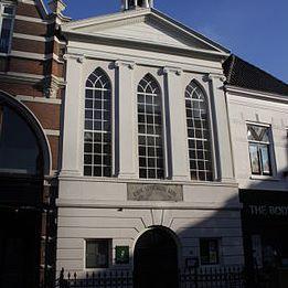 Locatie Evangelisch-Lutherse Kerk in Amersfoort