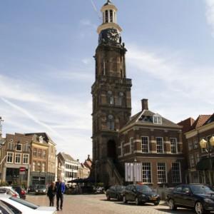 Locatie Groenmarkt, tegenover de Wijnhuistoren