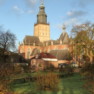 Locatie Walburgiskerk Zutphen